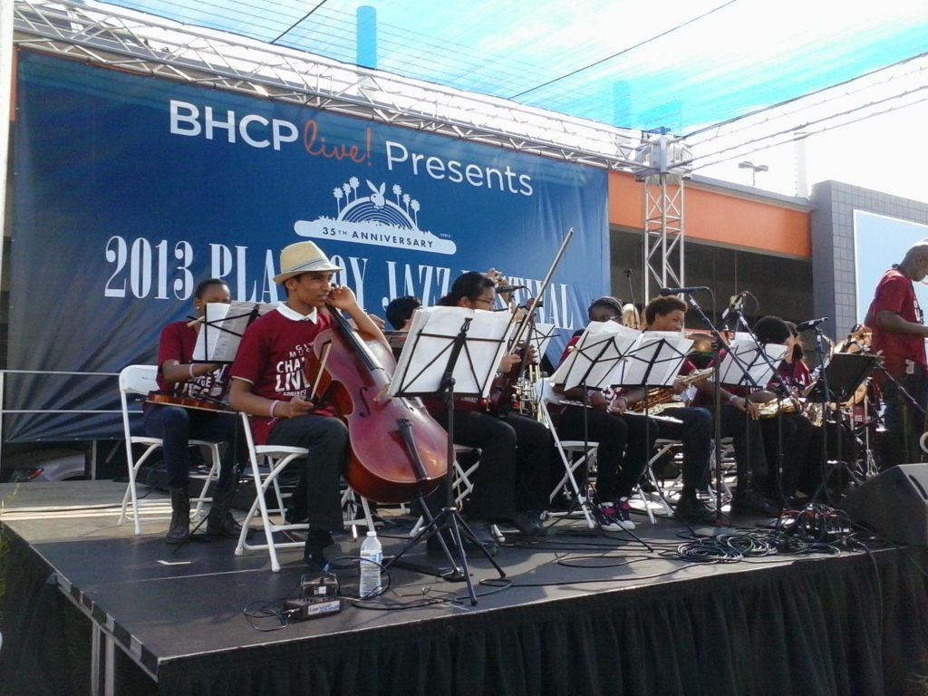 Project Harmony on stage. Photo Credit: Melvinna Bailey