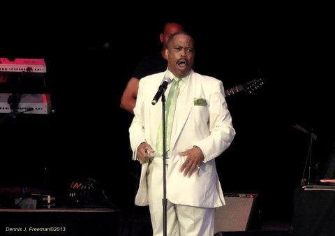 Cuba Gooding Sr. and The Main Ingredients were part of the 70s Soul Jam. Photo Credit: Dennis J. Freeman