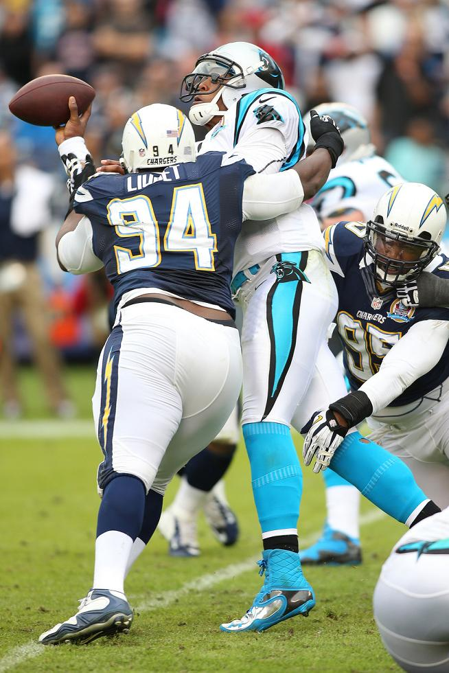 December 16, 2012 Carolina Panthers at San Diego Chargers