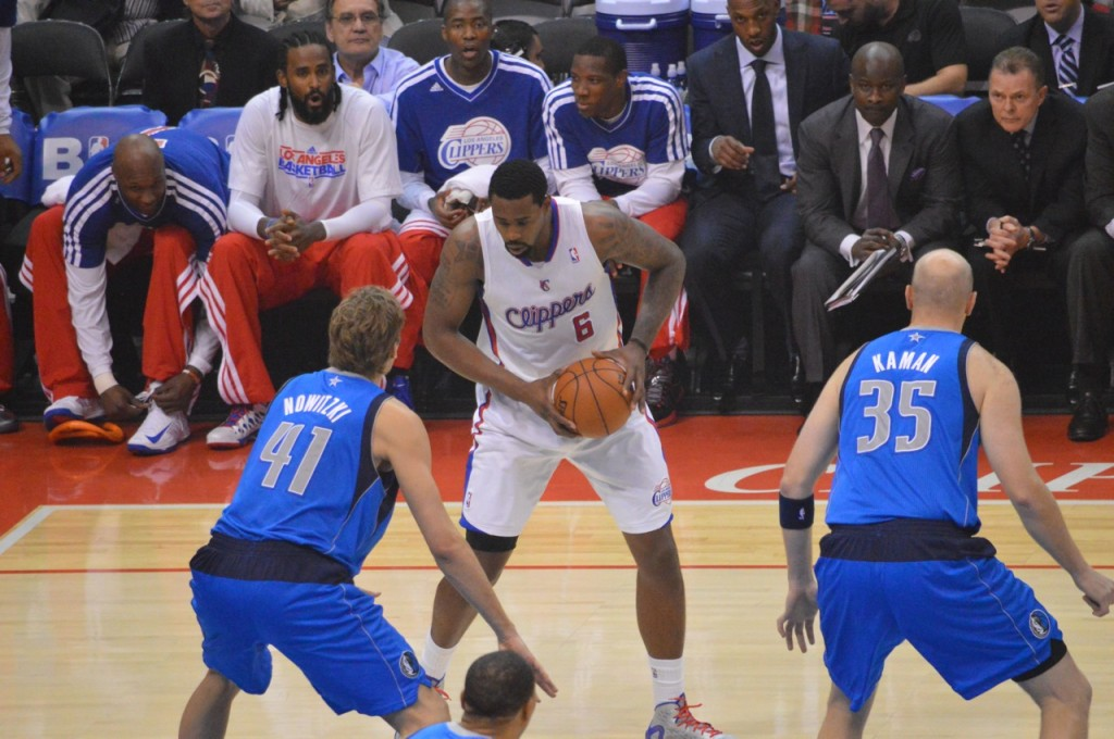 Clippers center DeAndre Jordan is looking for a breakout year this season. Photo by Ronald Jenkins