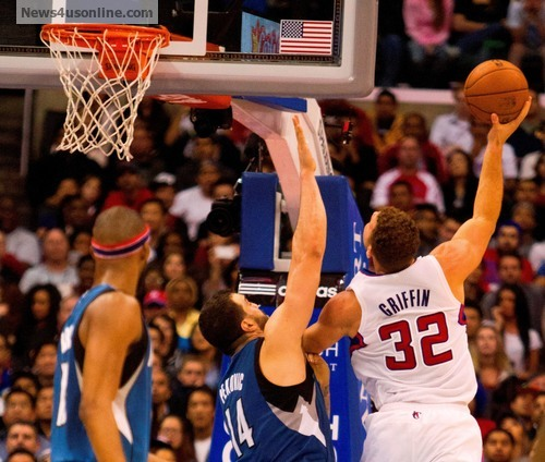Blake Griffin has blossomed into an all-around player this season. Photo Credit: Jevone Moore/News4usonline.com