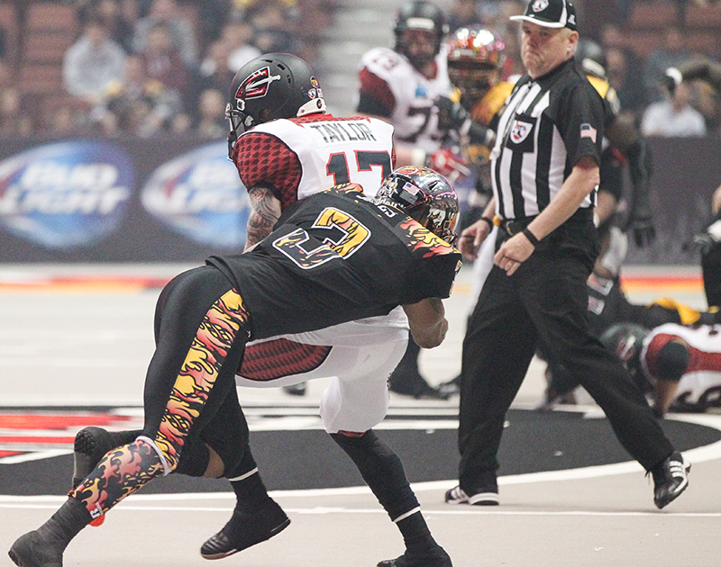 AFL- LA Kiss vs Cleveland