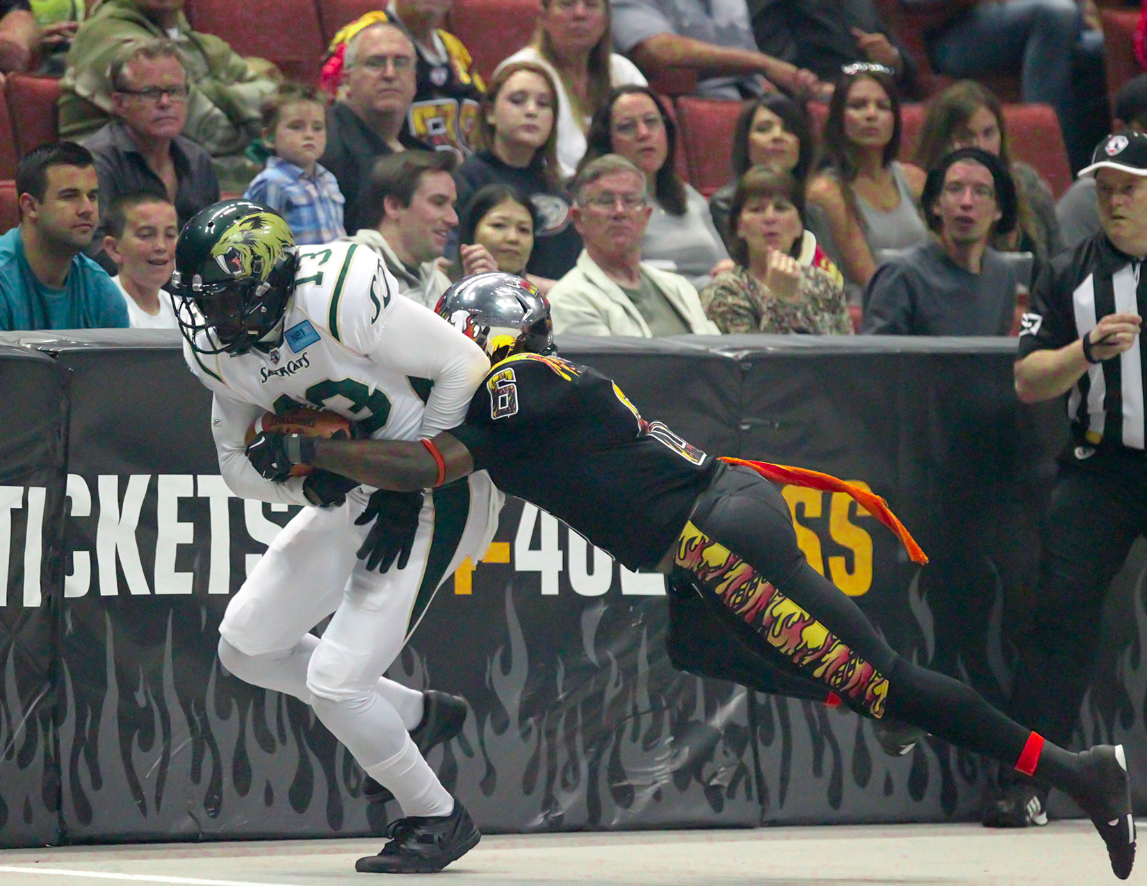 LA Kiss vs San Jose Sabercats