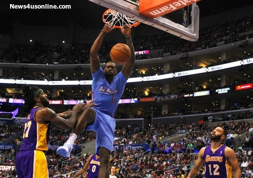 Clippers' center DeAndre Jordan could be a dominant presence in the paint. Photo Credit: Dennis j. Freeman/News4usonline.com