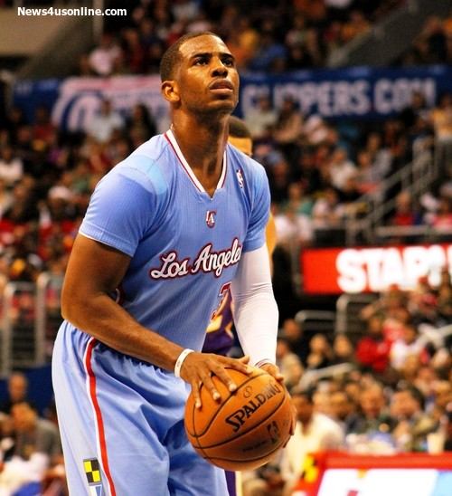 Team leader Chris Paul will have to steady the Clippers past the Golden State Warriors. Photo Credit: