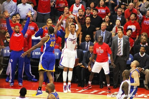 Matt Barnes was key in critical moments of the Clippers' seven-game series against the Golden State Warriors. Photo Credit:  Dennis J. Freeman/News4usonline.com
