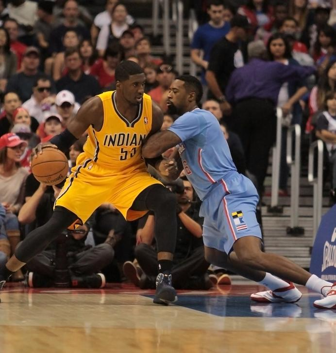 Center Roy Hibbert has some growing up to do in order for the  Pacers to overthrow the Miami Heat. Photo Credit: Jevone Moore/News4usonline.com