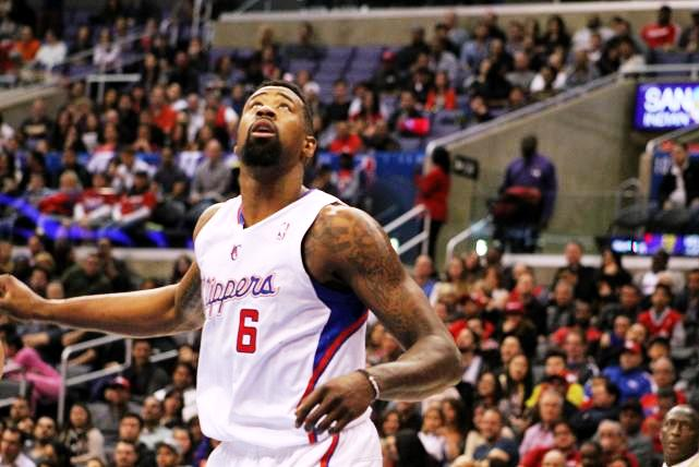 DeAndre Jordan collected 19 rebounds in the Clippers' 104-97 win at Staples Center. Photo File/News4usonline.com