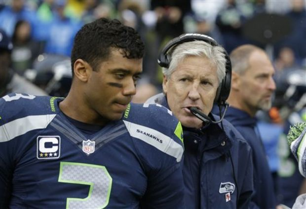 Seattle quarterback Russell Wilson and coach Pete Carroll made the wrong call at the goal line.