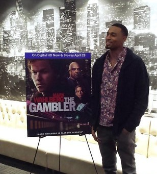 "Actor Anthony Kelly at the  DVD release party for ""The Gambler."""
