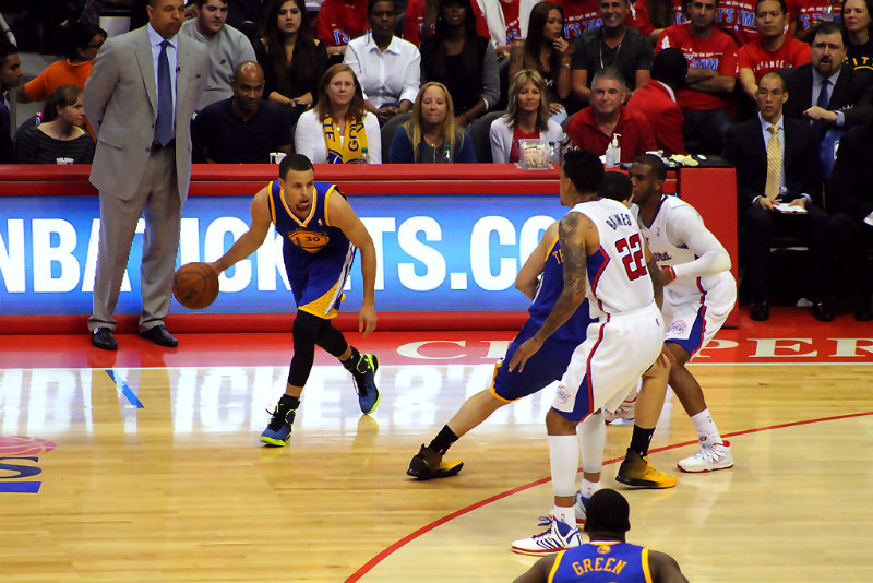 Steph Curry has taken his team to the next level. Photo by Dennis J. Freeman/News4usonline.com