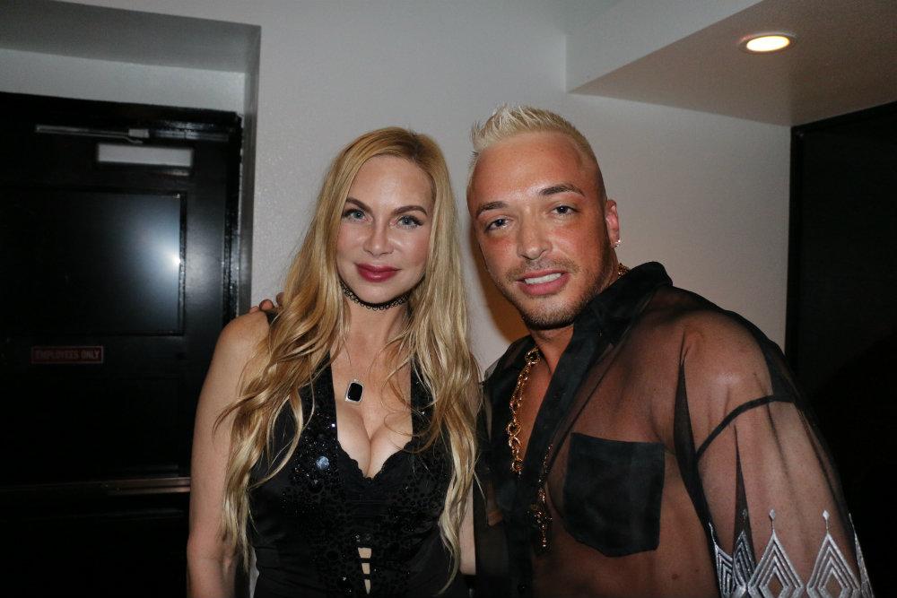 Kuba Ka and actress Christina Fulton