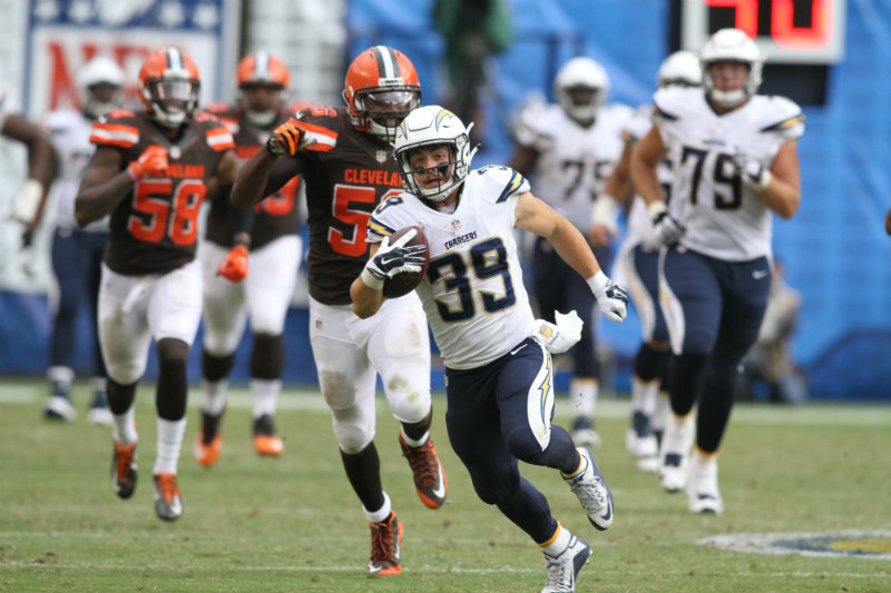 Danny Woodhead (39) could have a big year for the Chargers in 2016. Photo by Jevone Moore/News4usonline