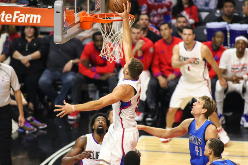Another dominating outing for Blake Griffin. Photo by Jevone Moore