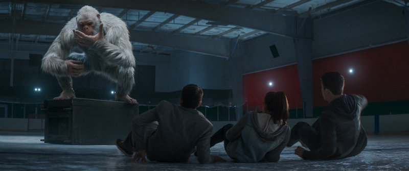 When the creatures from R.L. Stine's (Jack Black) Goosebumps series come to life – including the Abominable Snowman (pictured) – it's up to Stine to team up with three teenagers to get these figments of Black's imagination back in the books where they belong and save the town. Date Added 9/28/2015 1:45:00 PM Addtl. Info ©2015 CTMG. All Rights Reserve