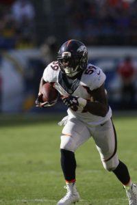 Denver Broncos linebacker Danny Trevathan (59). Photo by Kevin Reece/News4usonline.com