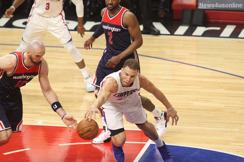 Blake Griffin was averaging 23 points and just over eight rebounds before he was sidelined with an injury. Photo by Kevin Reece/News4usonline.com