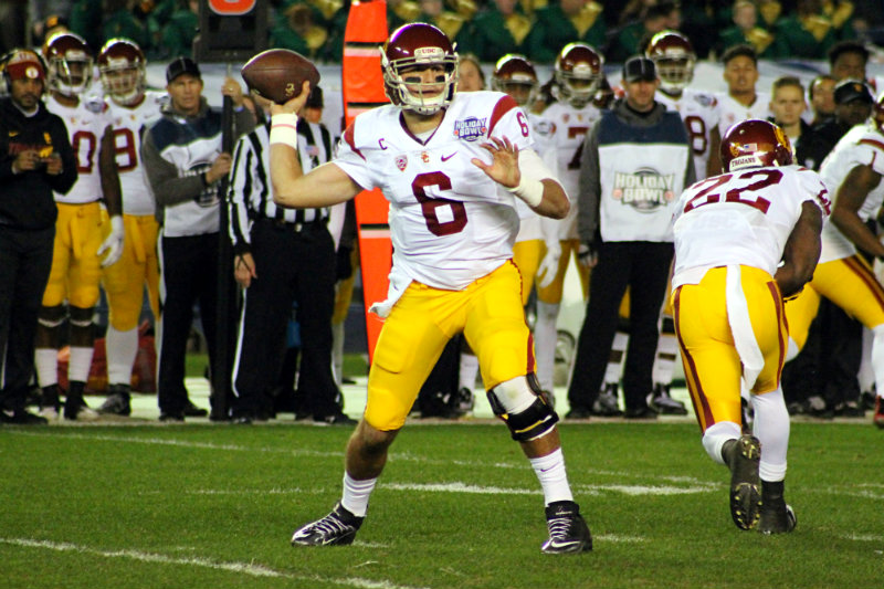 The Cleveland Browns went out and selected USC quarterback Cody Kessler in the third round of the 2016 NFL Draft. Photo by Dennis j. Freeman/News4usonline.com