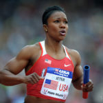Carmelita Jeter's jet is ready for another Olympic takeoff