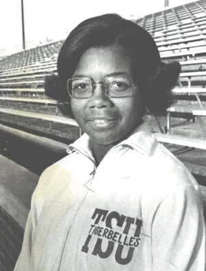 Former Tennessee State University track star Mamie Rallins set seven world and 11 American records during her career . Courtesy photo