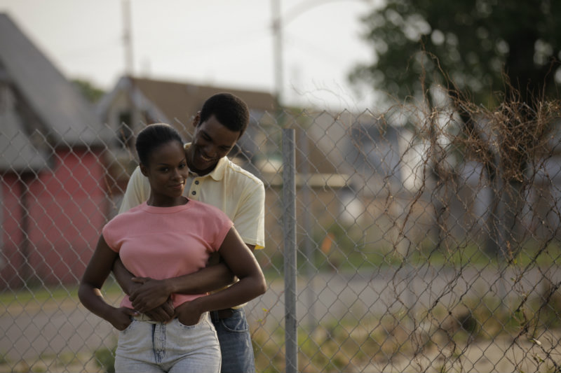 Tika Sumpter and Parker Sawyers in SOUTHSIDE WITH YOU. Photo credit: Pat Scola, Courtesy of Miramax and Roadside Attractions