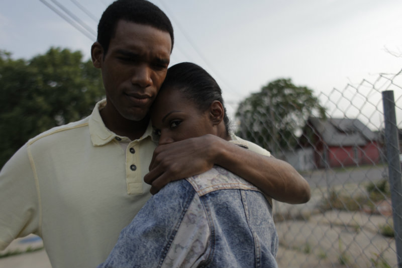 Parker Sawyers and Tika Sumpter in SOUTHSIDE WITH YOU. Photo credit: Pat Scola, Courtesy of Miramax and Roadside Attractions
