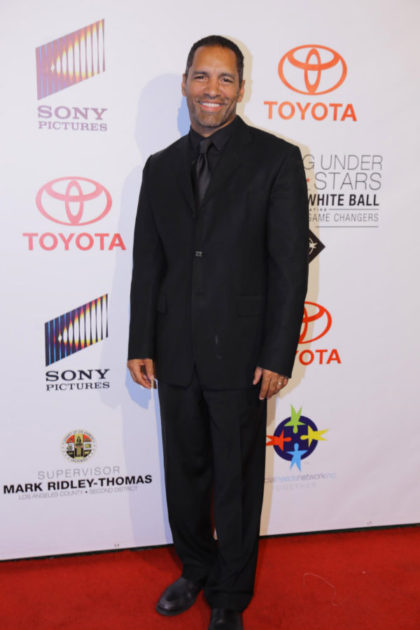 """Actor Patrick Faucette from OWNTV """"The Haves and Have Nots"""" and organ donor activist, attended SSN's star-studded event."""