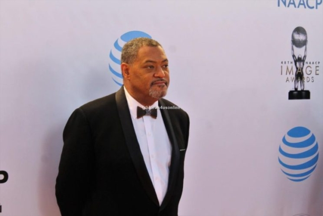 Actor Laurence Fishburne won the NAACP Image Award for Outstanding Supporting Actor in a Comedy (black-ish). Photo by Dennis J. Freeman/News4usonline