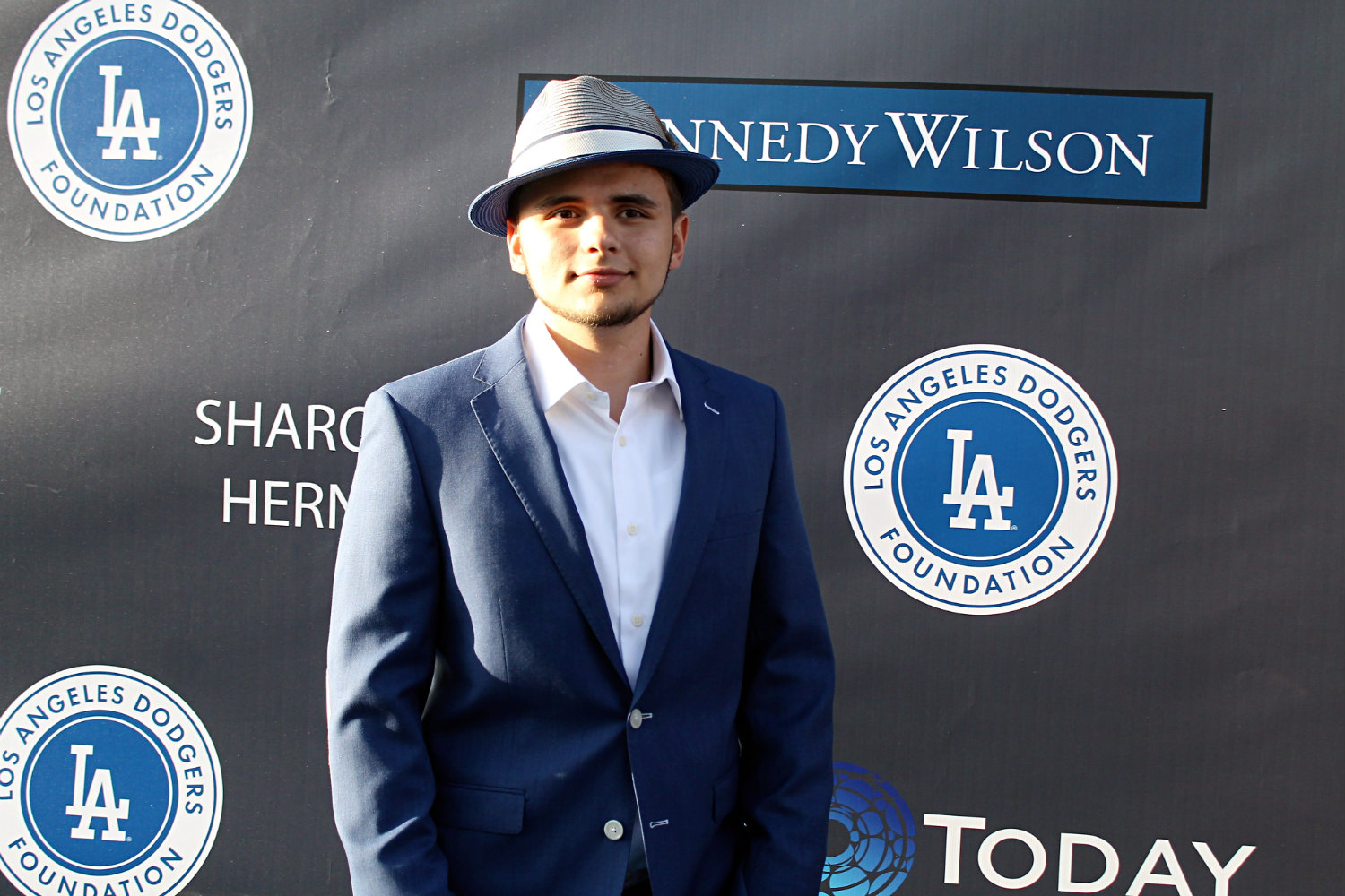 Prince Jackson, son of pop music legend Michael Jackson, arrives on the blue carpet at the Dodgers 3rd Annual Blue Diamond Gala, put on by the Los Angeles Dodgers Foundation. Photo by Dennis J. Freeman/News4usonline.com