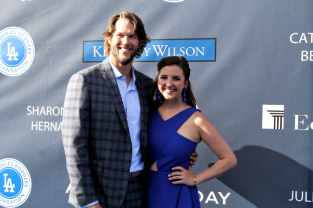 Dodgers pitching ace Clayton Kershaw is all smiles at the Blue Diamond Gala on Thursday, June 8, 2017. Photo by Dennis J. Freeman/News4usonline.com