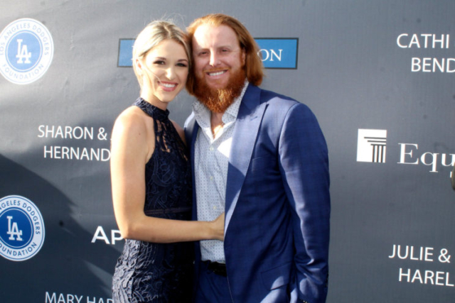 Dodgers star Justin Turner looks like he's having a great time at the Dodgers 3rd Annual Blue diamond Gala. Photo by Dennis J. Freeman/Nes4usonline,com