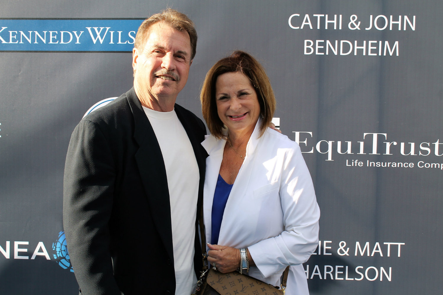 Dodgers legend Ron Cey stops for a pose at the team's 3rd Annual Blue Diamond Gala. Photo by Dennis J. Freeman/News4usonline.com