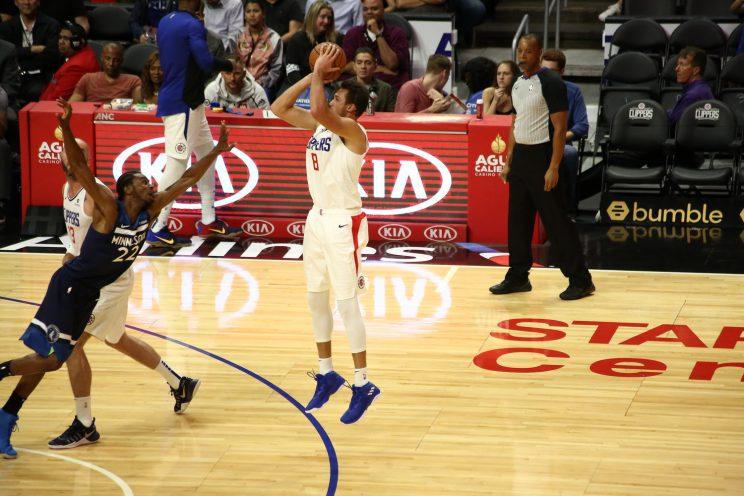 NBA Preseason-Los Angeles Clippers