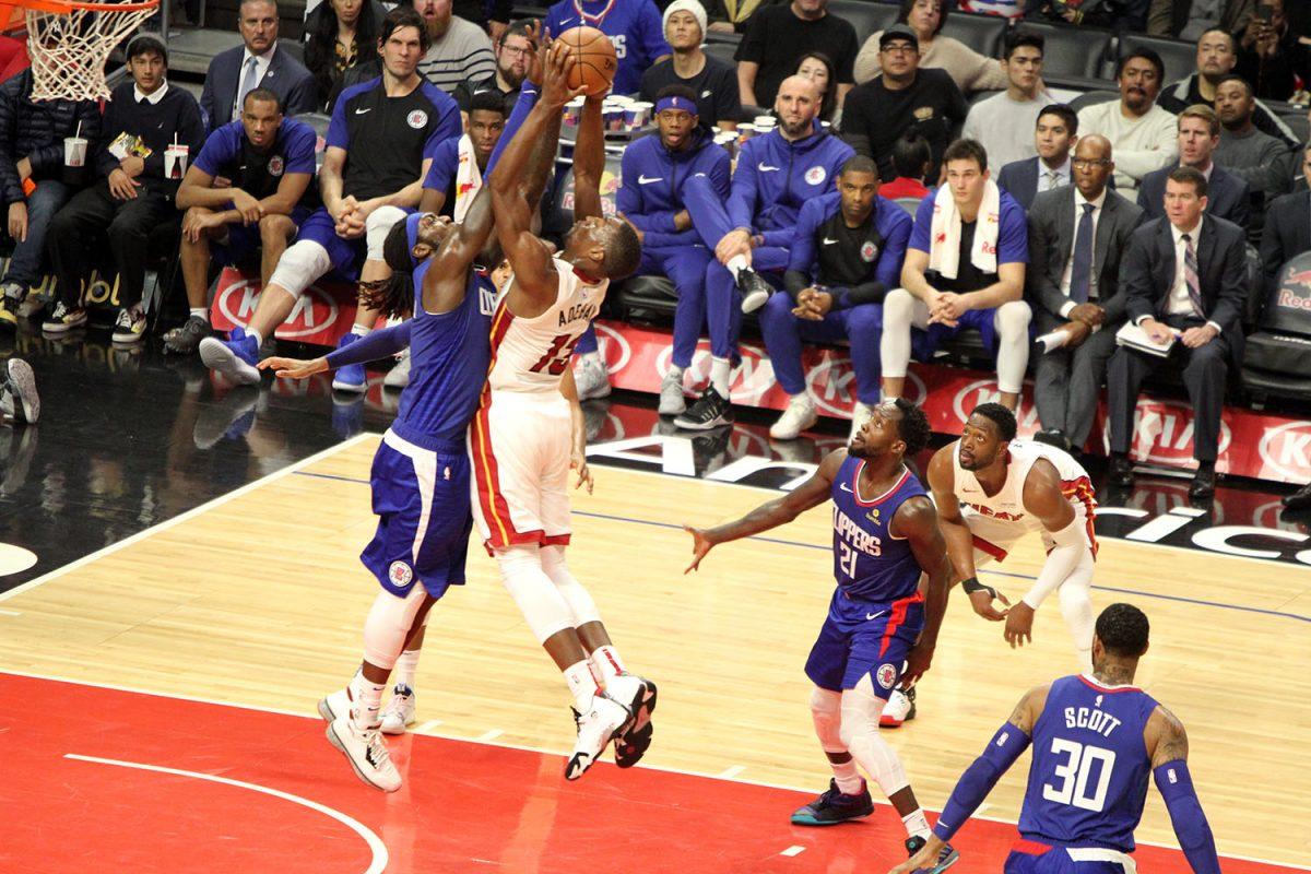 Clippers versus Miami Heat