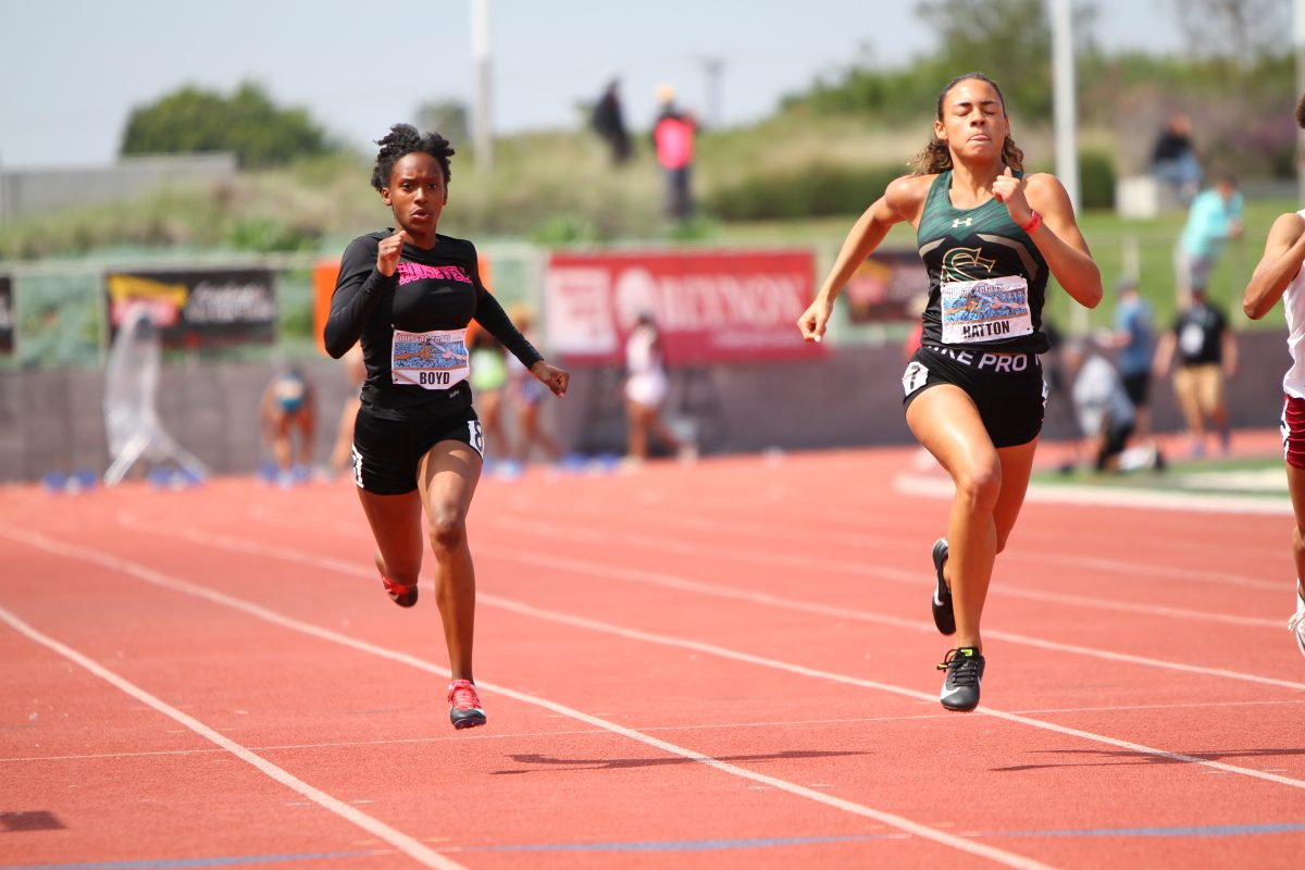 Track and field at the 2019 Mt. Sac Relays which was held at El Camino College in Lawndale, California. Photo credit: Dennis J Freeman/News4usonline