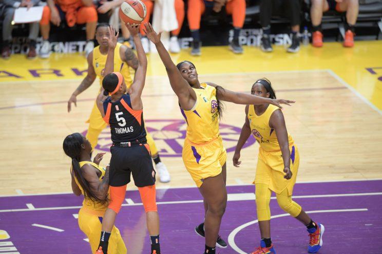 WNBA: Los Angeles Sparks versus Connecticut Sun