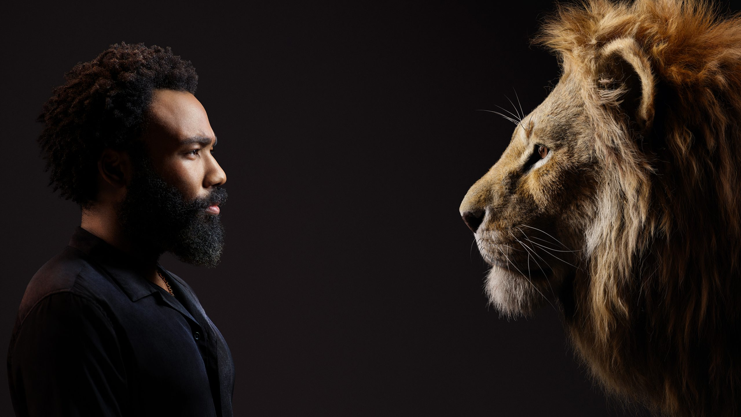 """Donald Glover as Simba in Disney's """"The Lion King."""""""
