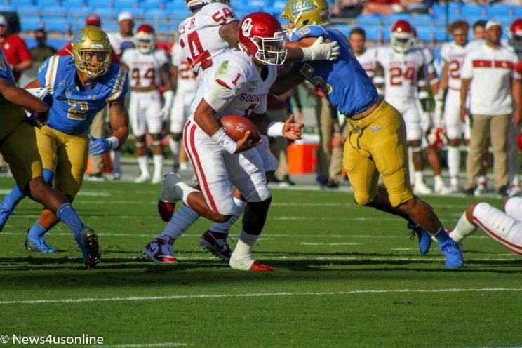 UCLA versus Oklahoma: Jalen Hurts