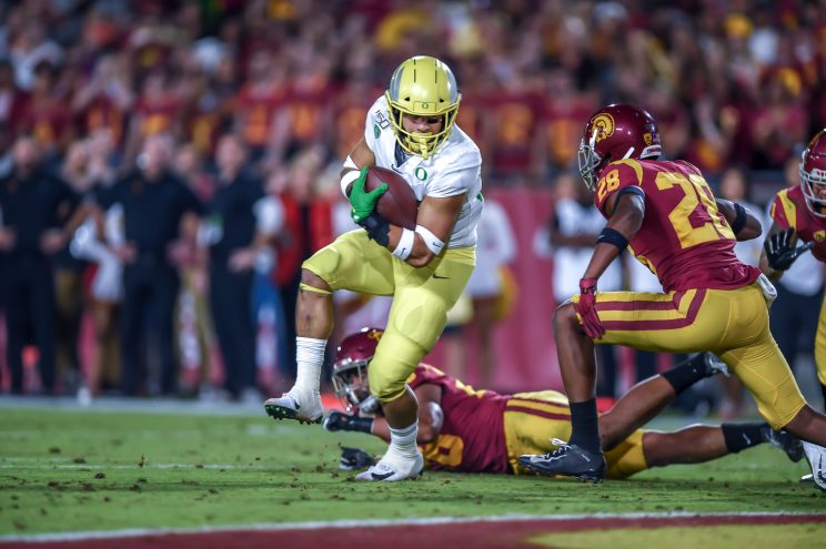 Oregon versus USC: College Football