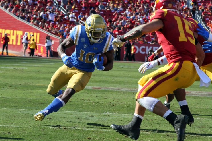 USC and UCLA college football