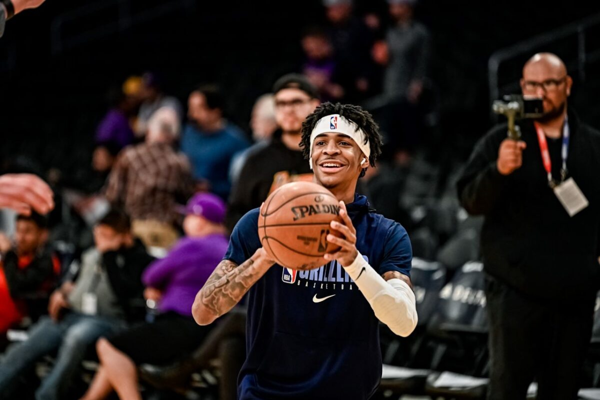 Memphis Grizzlies guard Ja' Morant