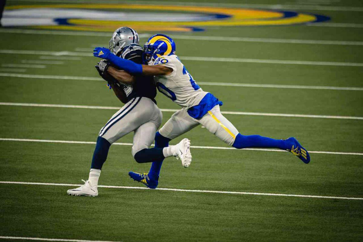 Rams defensive back Jalen Ramsey