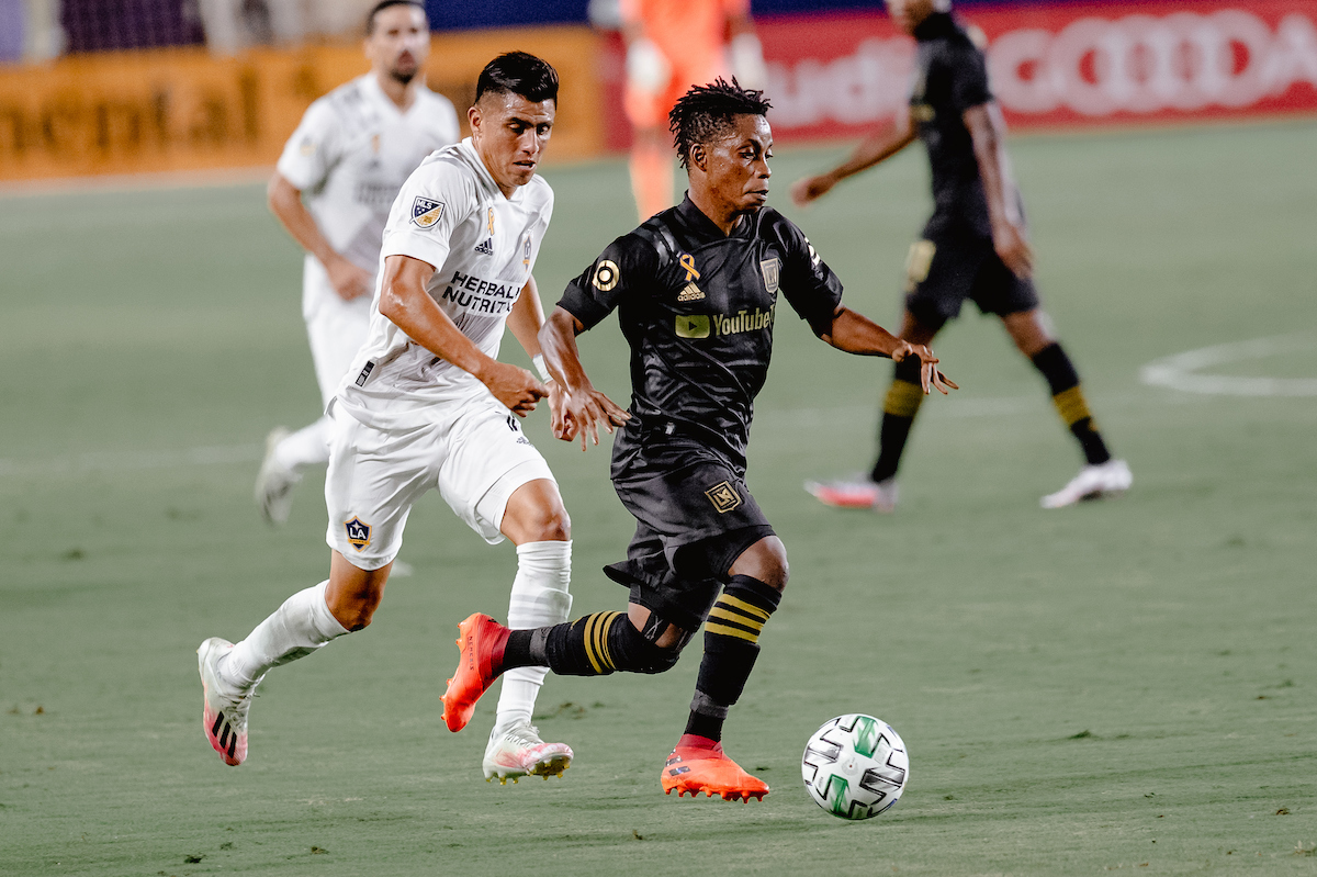 Los Angeles Galaxy defeated the Los Angeles Football Club, 3-0, at Dignity Health Sports Park