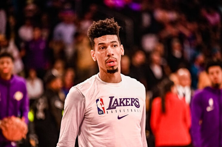 Los Angeles Lakers guard Danny Green