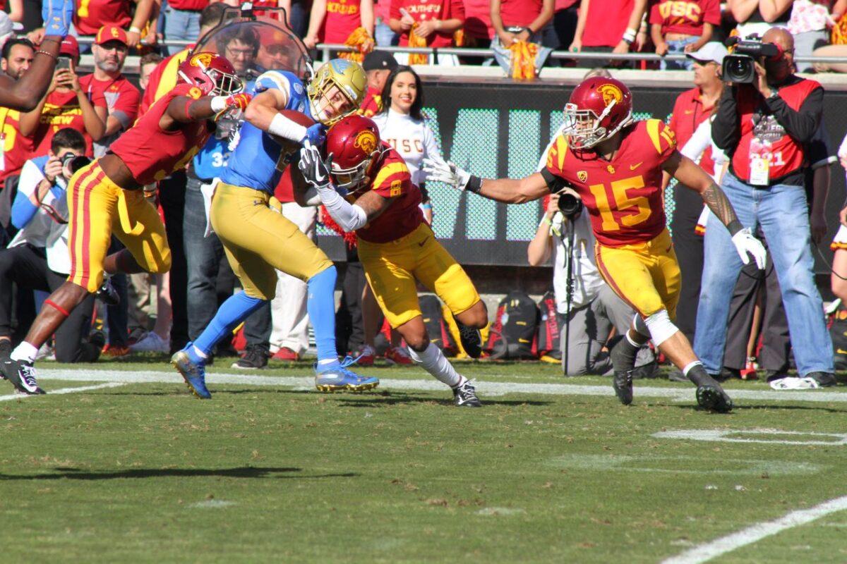 USC defensive back Talanoa Hufanga