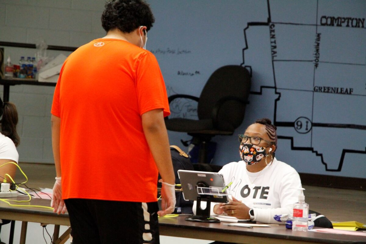 Voters come out strong on election day