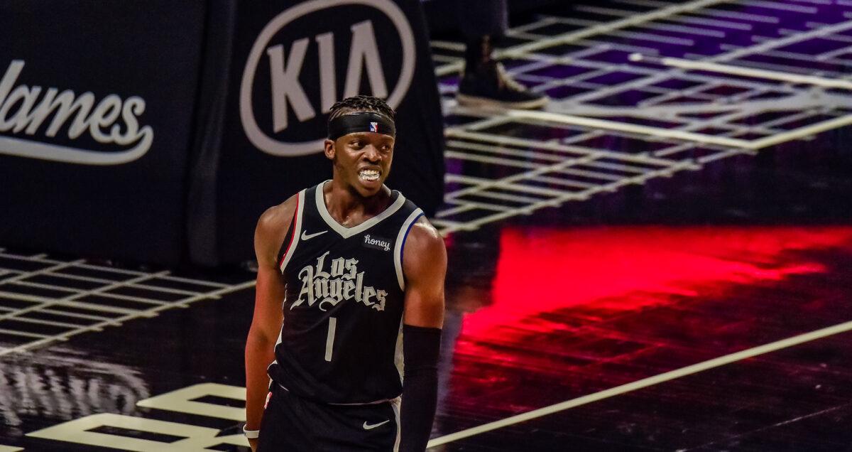 Los Angeles Clippers guard Reggie Jackson